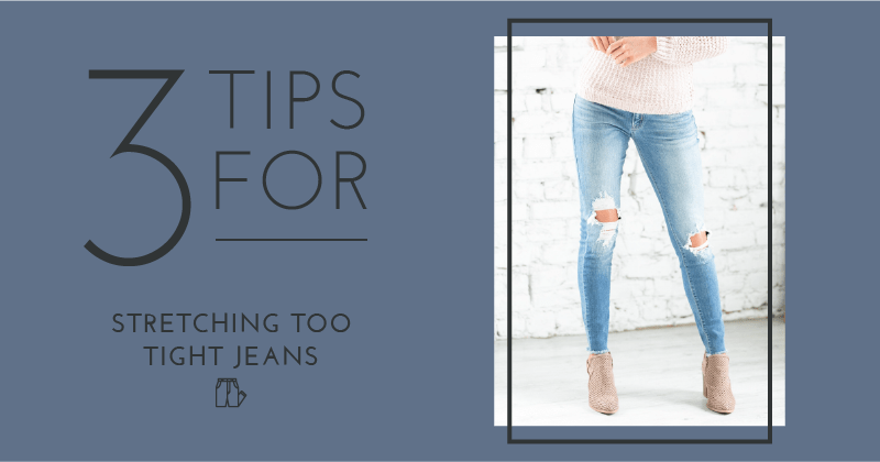 How to Stretch Your Jeans When They Get too Tight