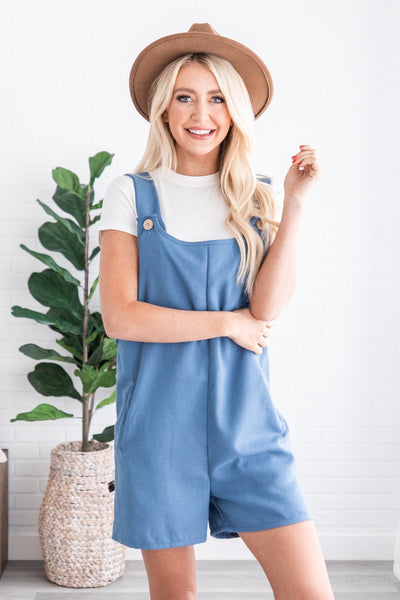 Addilyn Linen Romper