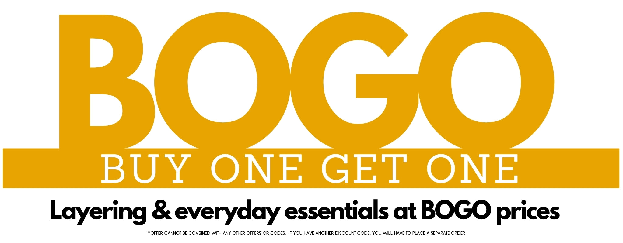 Buy One Get One Free Collection - Liam & Co
