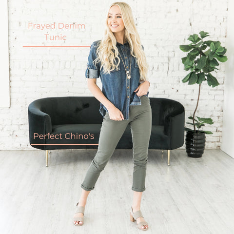 chinos, women's clothing, tips, office wear