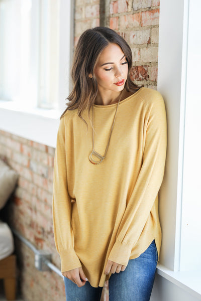 Ultra Soft Crew Neck Sweater