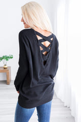 Ultra Soft Criss Cross Sweater