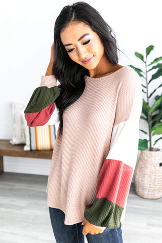 Bishop Color Block Tunic