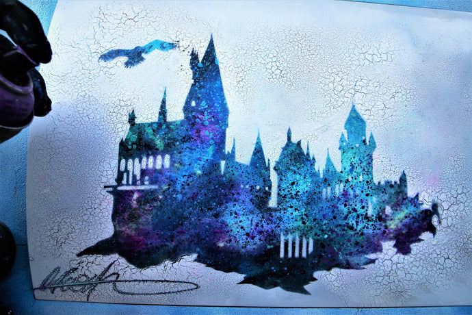 Hogwarts castle - GLOW IN DARK