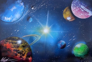Planets in endless Space