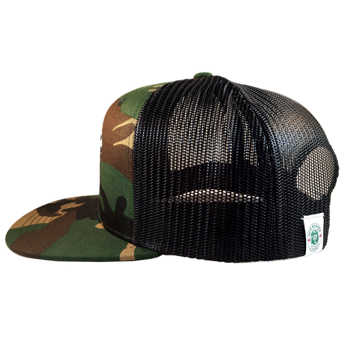 Bud Beaver 6 Panel Cam & Black Trucker Hat