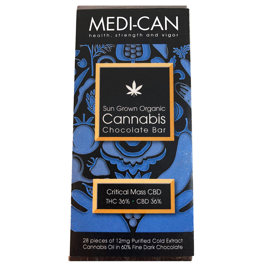 MEDI-CAN - Sun Grown Organic Cannabis Chocolate Bar