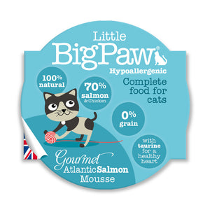 Little Big Paw Chat 85g Saumon