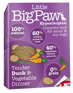 Mousse Little Big Paw Chien 150g Canard
