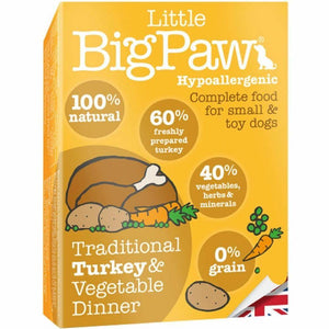 Pack 7 Mousses Little Big Paw Chien - Saveur Dinde