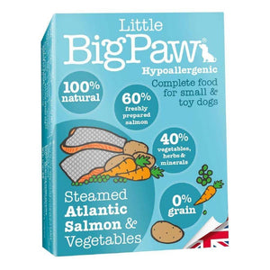 Mousse Little Big Paw Chien 150g Saumon