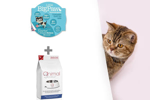 Duo Croquettes & Mousses - Chat Adulte 5 kg - Saveur Saumon