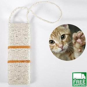 Sisal Cat Scratching Hanging Post