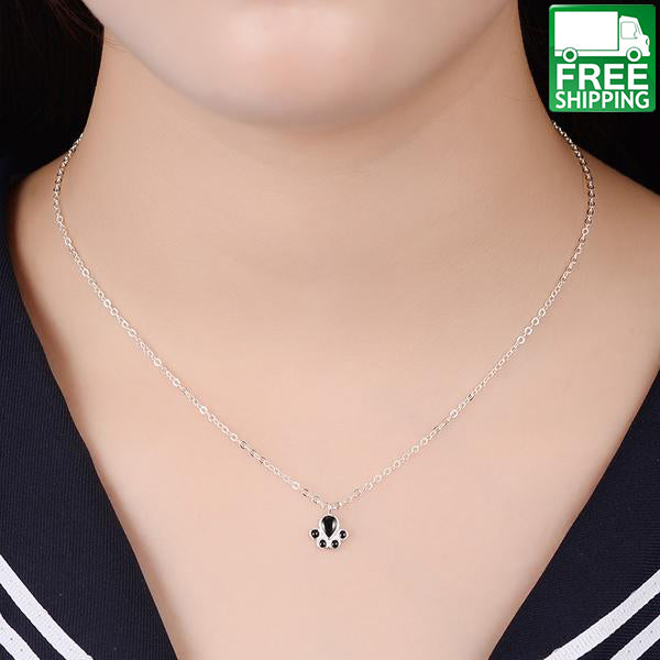 neck short loading love itm silver image is heart small gold tiny s necklace pendant chain elegant