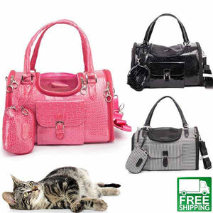 Leather Cat Carrier