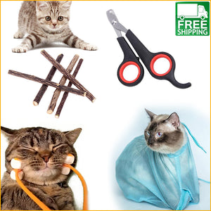 Claw-Some Cat Grooming Kit