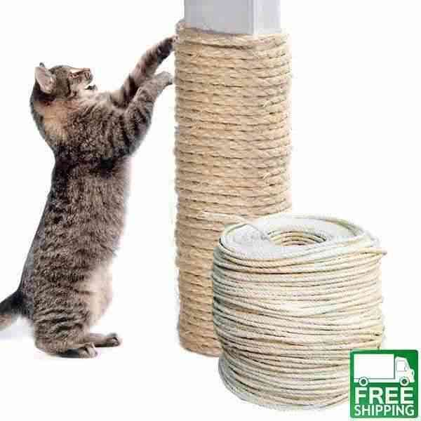 Cat S Scratching Rope Diy For Claw Sharpening Free Shipping Cat