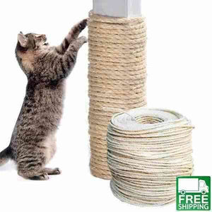 cat sisal rope diy scratcher DIY