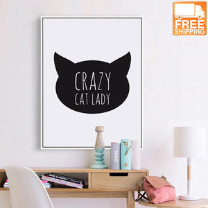 Crazy Cat Lady Quote