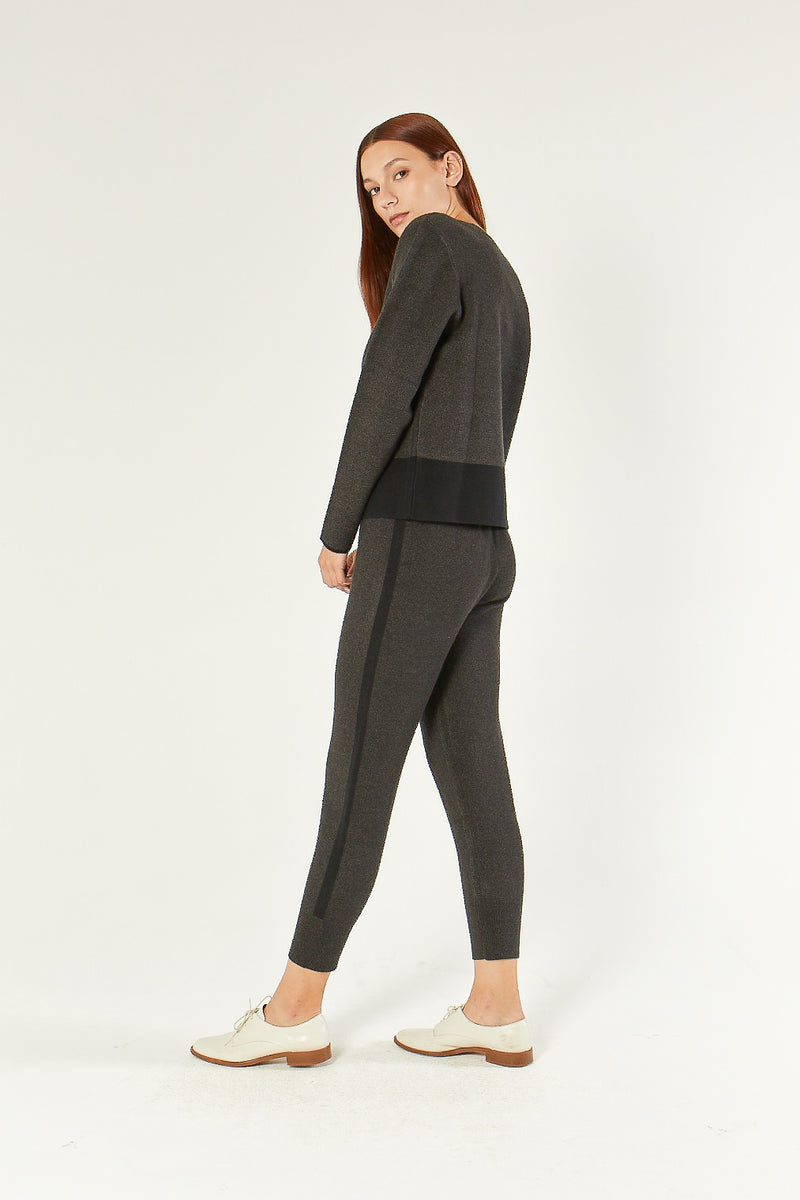 Hart - Charcoal Double Face Jogger - COMUNE