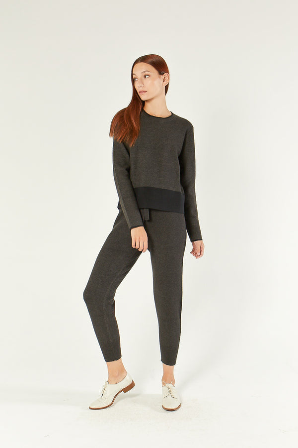 Hart - Charcoal Double Face Jogger