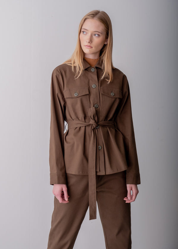Lynnview  - Army Green Utility jacket