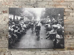 Final Climb - Tour de France - Canvas Wall Art FREE SHIPPING - Urban Cycling Apparel