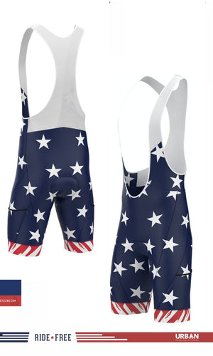 Freedom Ride - Bibs Only - Urban Cycling Apparel