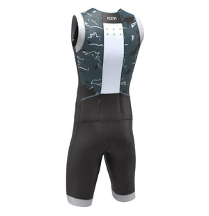 KONA ASSAULT Triathlon Race Suit - Black Camo - Urban Cycling Apparel