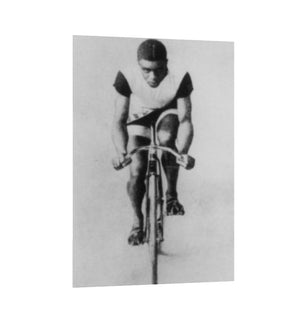 Major Taylor, World Record Cycling Champion - Canvas Wall Art FREE SHIPPING - Urban Cycling Apparel