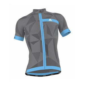 Men's ELITE GRAPHITE Cycling Jersey - Urban Cycling Apparel
