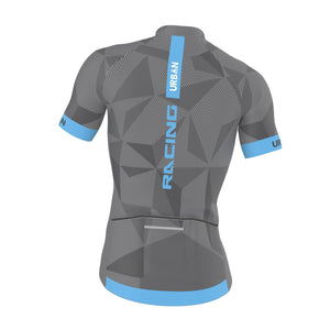 Men's ELITE GRAPHITE Jersey & Bib Shorts - Urban Cycling Apparel
