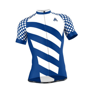 Men's ELITE ROYAL Cycling Jersey - Urban Cycling Apparel