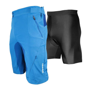 Men's Gravel Grinder Cyclocross / MTB Shorts - Flex Soft Shell Shorts with Zip Pockets and Vents - Urban Cycling Apparel