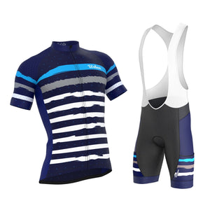 Men's Predator Short Sleeve Jersey, Bib Shorts - Urban Cycling Apparel