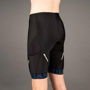 Men's Pro Padded Cycling Shorts with Hidden Cargo Pockets - Urban Cycling Apparel