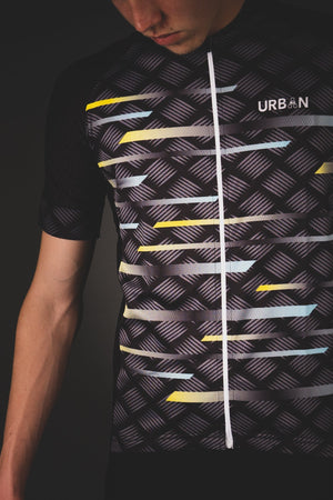 Men's Pro Urban Cycling Carbide Short Sleeve Jersey, Bib Shorts, or Kit Bundle - Urban Cycling Apparel