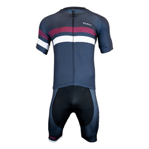 Men's Urban Cycling Classic Short Sleeve Jersey, Bib Shorts, or Kit Set - Urban Cycling Apparel