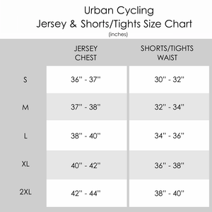 Men's Urban Cycling Windsor Short Sleeve Jersey, Shorts, or Kit Set - Urban Cycling Apparel