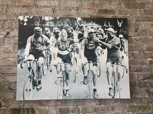 Smokers, A Tour de France - Canvas Wall Art FREE SHIPPING - Urban Cycling Apparel
