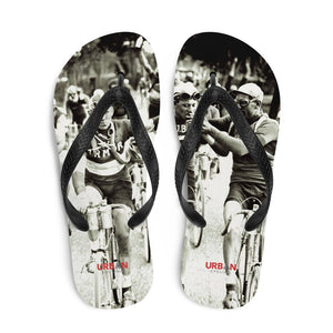 SMOKERS, A TOUR DE FRANCE Flip-Flops - Urban Cycling Apparel