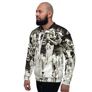 SMOKERS, A TOUR DE FRANCE Unisex Bomber Jacket - Urban Cycling Apparel