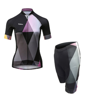 The Duchess - Women's Short Sleeve Jersey, Shorts, or Kit Set - Urban Cycling Apparel