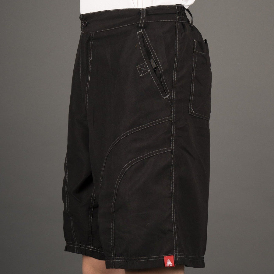 THE PUB CRAWLER - Men's Black Casual Bike Shorts - Urban Cycling Apparel