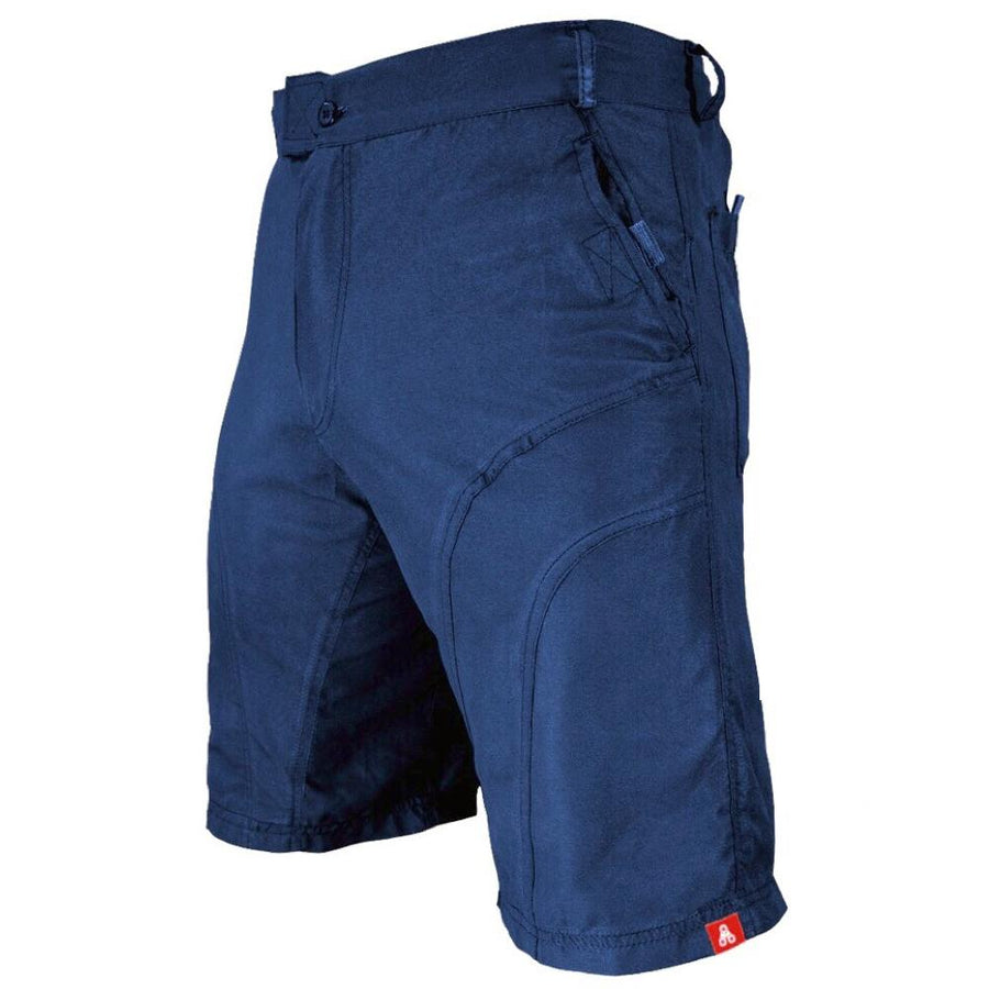 THE PUB CRAWLER - Men's Blue Casual Bike Shorts - Urban Cycling Apparel