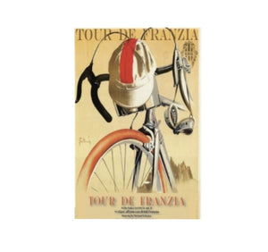 Tour De Franzia - Canvas Wall Art FREE SHIPPING - Urban Cycling Apparel