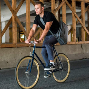 Urban Cycling Commuter Bike to Work Pants - Gray - Urban Cycling Apparel