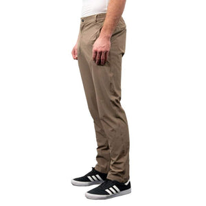 Urban Cycling Commuter Bike to Work Pants - Khaki - Urban Cycling Apparel