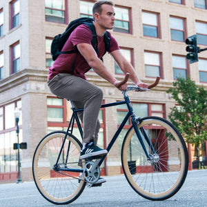 Urban Cycling Commuter Bike to Work Pants - Olive - Urban Cycling Apparel