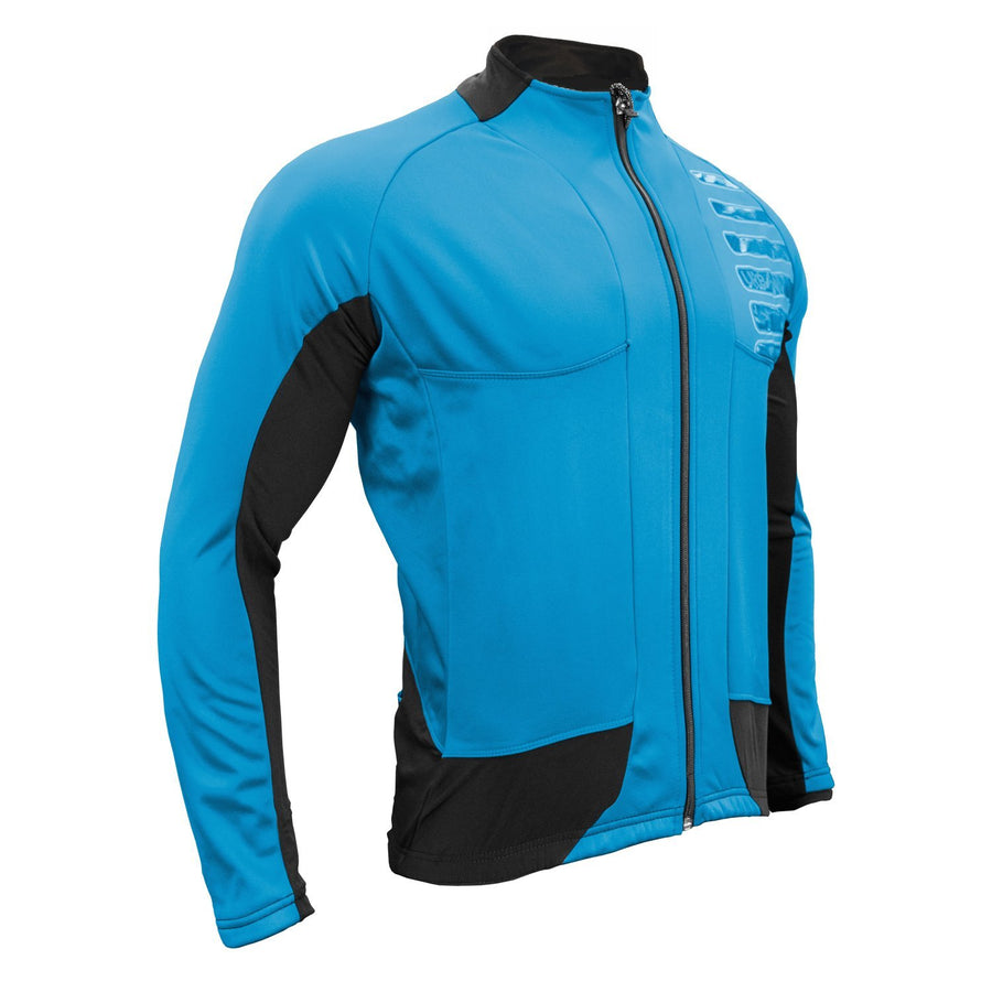 Urban Cycling REFLECTOR Winter Softshell Thermal Jersey Jacket - Urban Cycling Apparel